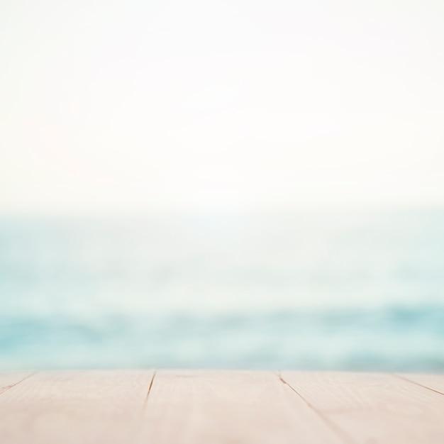 Sfondo sfocato spiaggia Foto Gratuite