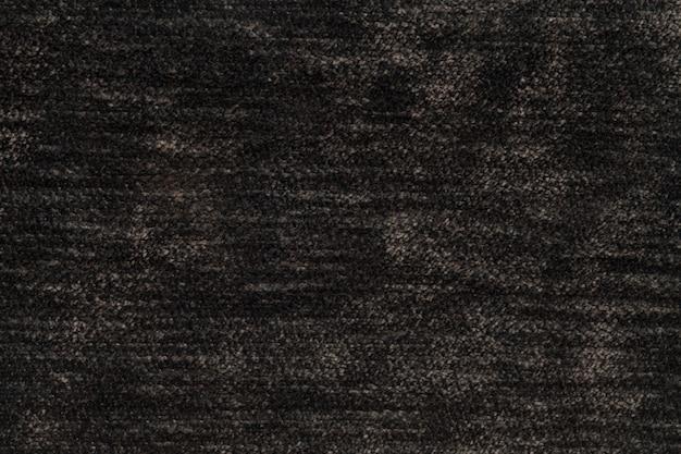 Sfondo soffice marrone scuro di panno morbido e soffice, texture di tessuto leggero pannolino Foto Premium
