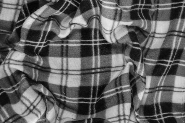 Sfondo tessile, immagine senza bianco e nero Foto Premium