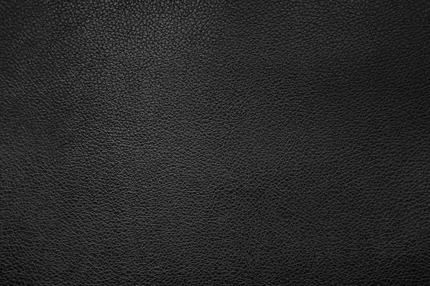 Sfondo texture pelle nera Foto Premium