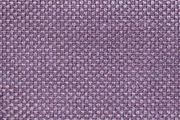 Sfondo viola tessile con patterno a scacchi. Foto Premium
