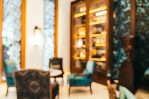 Sfuocatura astratta e hall sfocata dell'hotel interno, sfondo sfocato foto Foto Gratuite