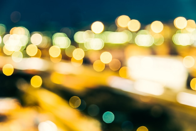 Sfuocatura astratta sfondo di città Foto Gratuite