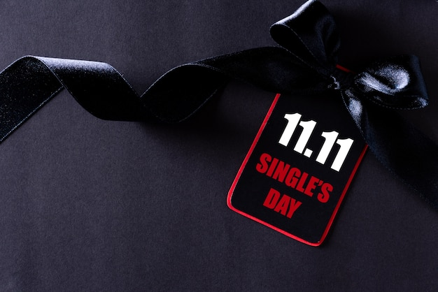 Shopping online in cina, vendita 11.11 single day. Foto Premium