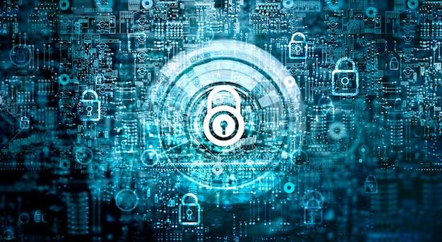 Sicurezza della rete globale Foto Premium