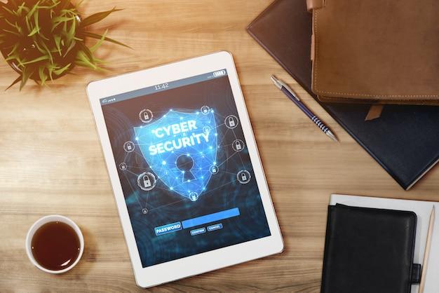 Sicurezza informatica e protezione dei dati digitali Foto Premium