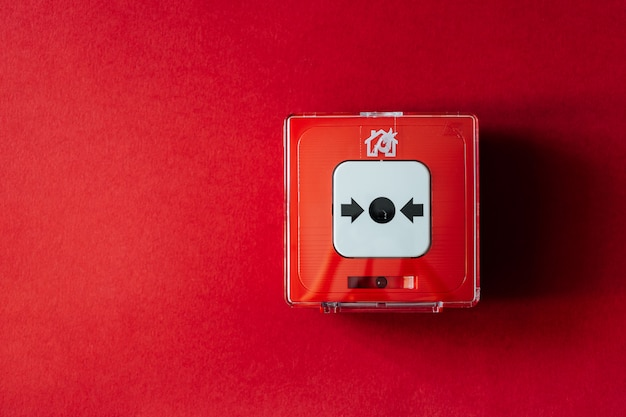 Sistema di allarme antincendio Foto Premium