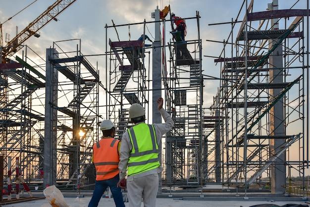Sito di costruzione Foto Premium