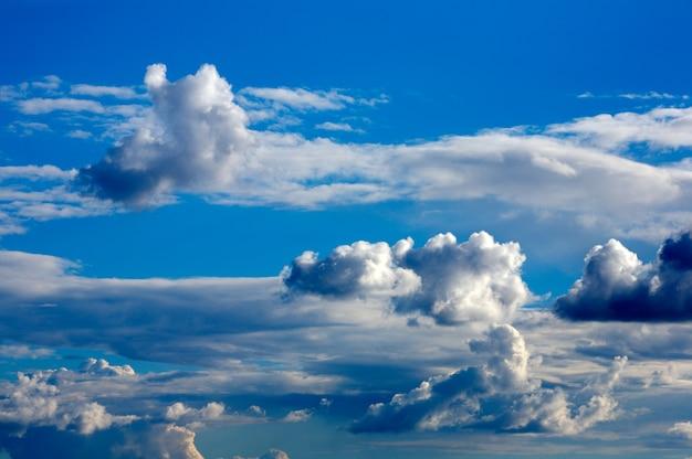 Sky storm con nuvole Foto Premium