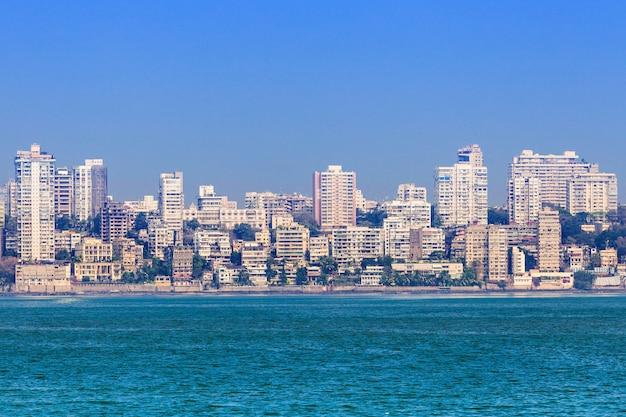 Skyline di mumbai Foto Premium