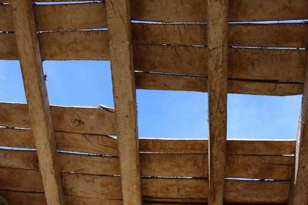 Soffitto antiquariato legno vecchio  Scaricare foto gratis