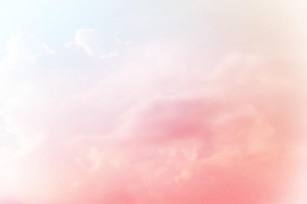 Soft pastello sfumato sfondo pastello Foto Premium