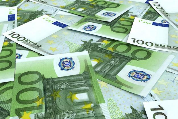 Soldi da molti euro Foto Premium