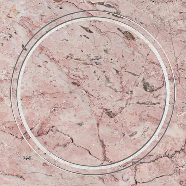 Spazio di design del telaio in marmo Foto Gratuite