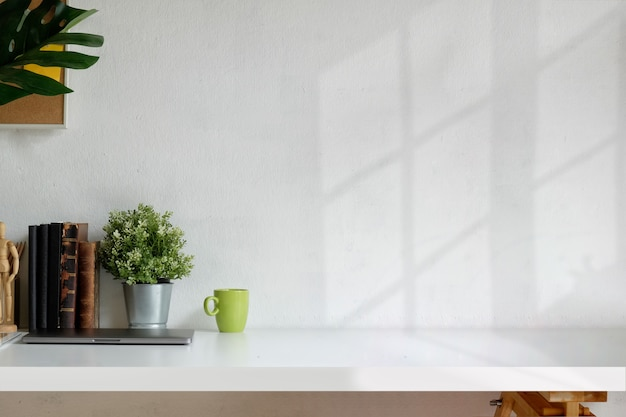 Spazio di lavoro loft Foto Premium