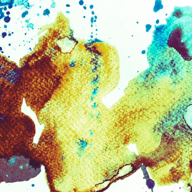 Spazzolato dipinto astratto Foto Gratuite
