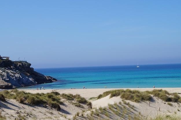 Spiaggia, acqua, sabbia maiorca natura sole mare prenotata Foto Gratuite