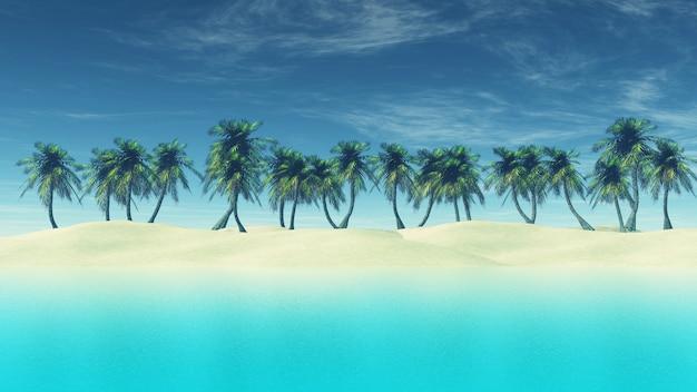 Spiaggia paradisiaca Foto Gratuite