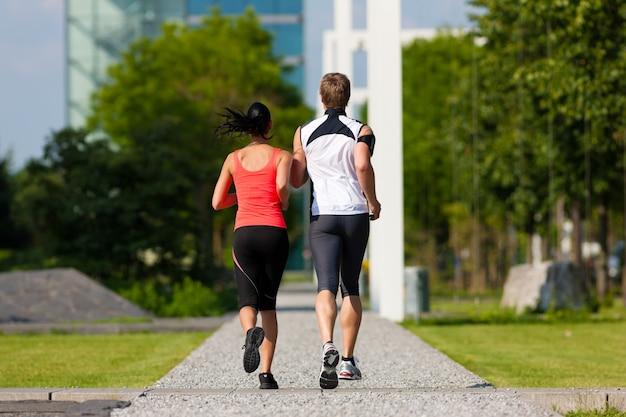 Sport urbani - fitness in città Foto Premium