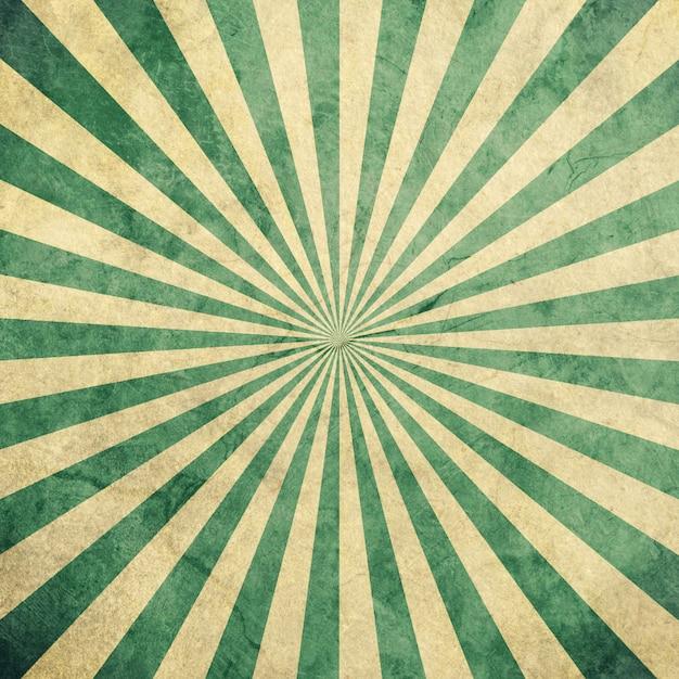 Sprazzo Di Sole Verde E Bianco Vintage E Pattern Di Sfondo Con Lo