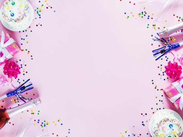 Spruzza e decorazioni da party Foto Gratuite
