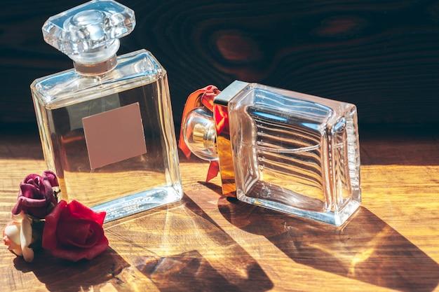 Spruzzatore di bottiglie di profumo Foto Premium