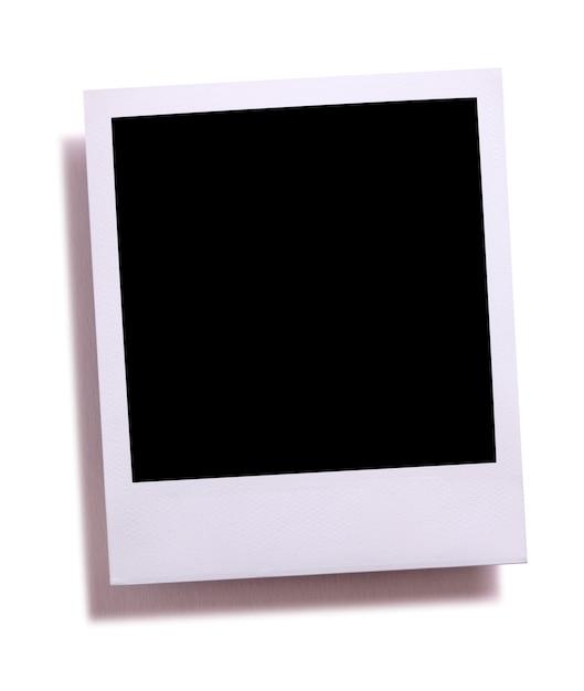 Stampa in bianco della fotocamera istantanea in bianco Foto Gratuite