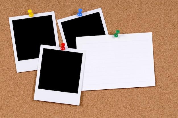 Stampe istantanee con carta indice Foto Gratuite