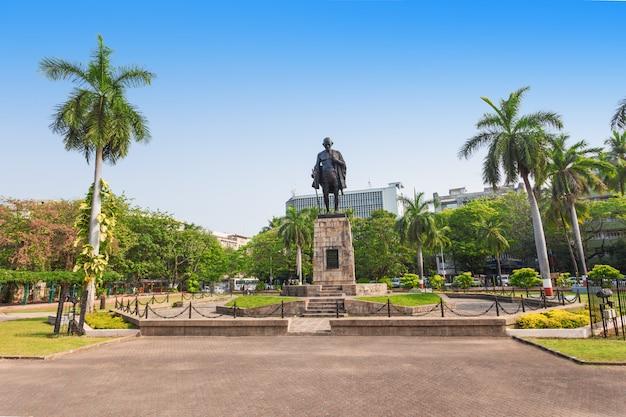 Statua di mahatma gahdhi Foto Premium