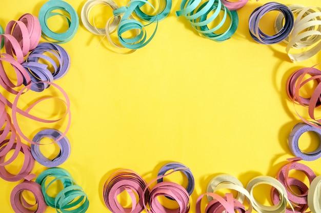 Stelle filanti colorate miste Foto Premium
