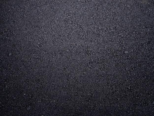 Strada asfaltata ruvida strutturata. Foto Premium