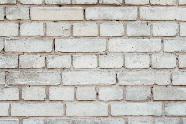 Struttura bianca del fondo del muro di mattoni Foto Gratuite