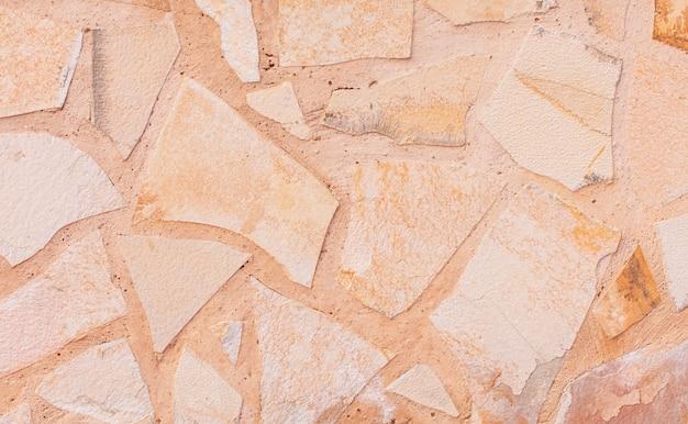Struttura calda del calcare o fondo di pietra. Foto Premium