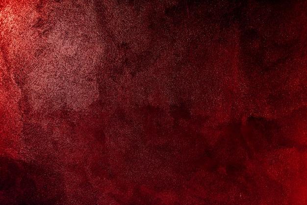 Struttura del fondo della parete di vernice rossa Foto Gratuite