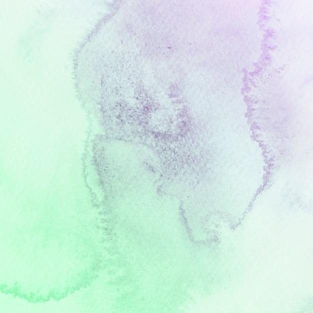 Struttura dell'acquerello verde e viola Foto Gratuite