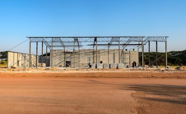 Struttura dell'edificio in costruzione, oltre il 30 percento Foto Premium