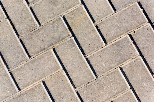 Struttura della lastra per pavimentazione, primo piano. Foto Premium