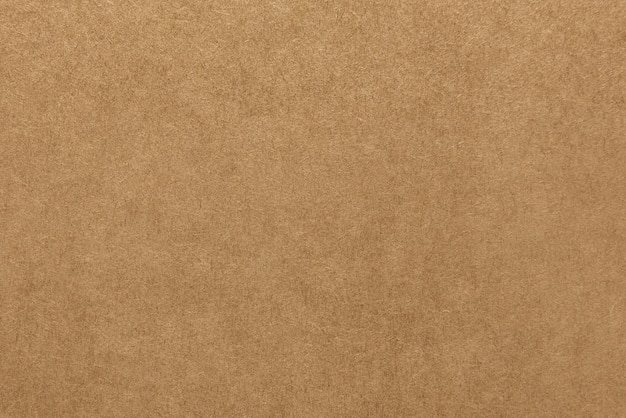 Struttura marrone chiaro della carta kraft per fondo Foto Premium