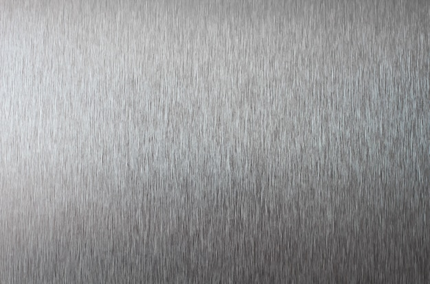 Struttura metallica argento fine di struttura dell'acciaio inossidabile in su Foto Premium