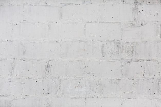 Struttura senza cuciture del modello del muro di mattoni bianco Foto Gratuite