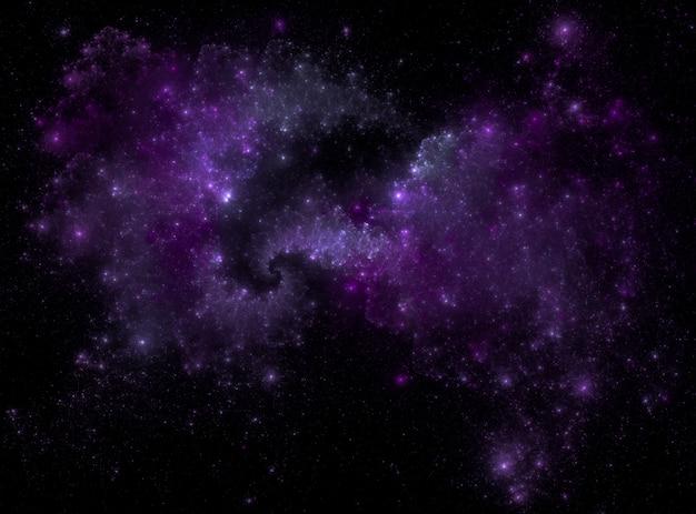 Struttura stellata del fondo dello spazio cosmico Foto Premium