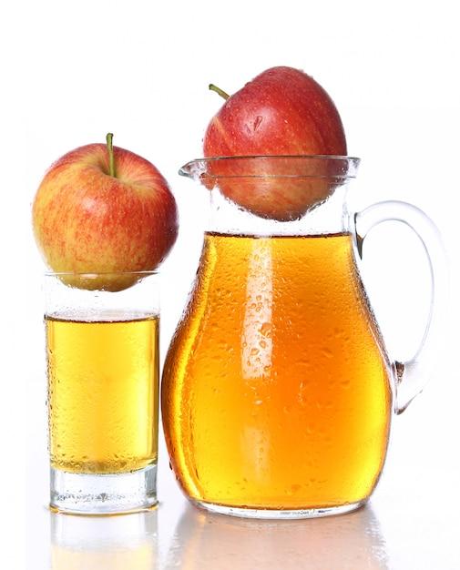 Succo di mela fresco e freddo Foto Gratuite