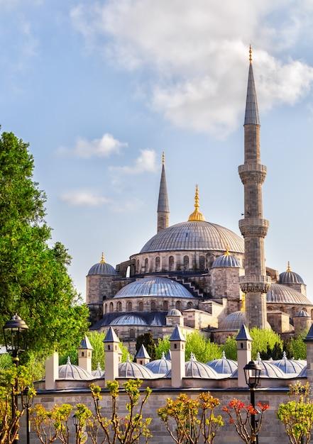Sultan ahmed o moschea blu di istanbul, in turchia Foto Premium