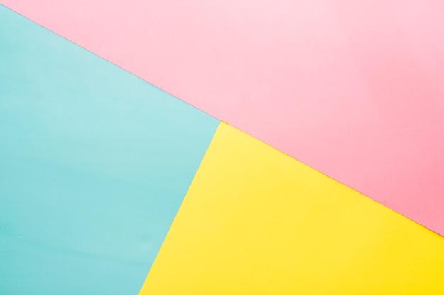 Superficie decorativa con tre colori Foto Gratuite