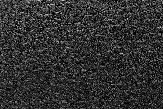 Superficie dello sfondo vintage in pelle nera. Foto Premium