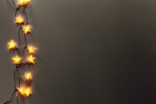 Superficie di luci incandescente Foto Premium