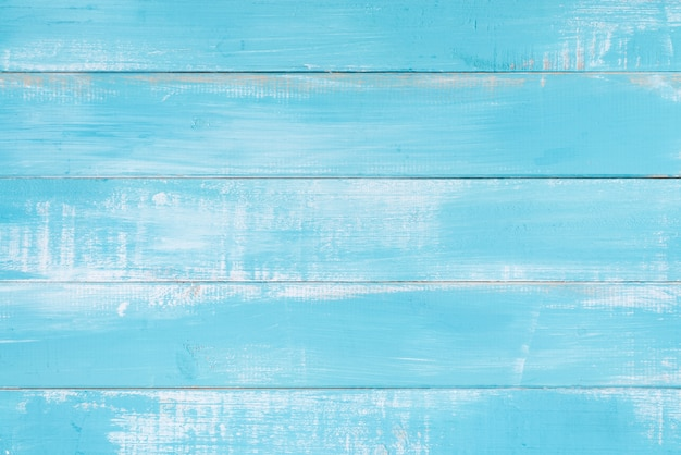 Superficie di sfondo blu struttura di legno Foto Gratuite