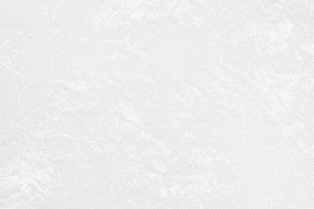 Superficie semplice del fondo di cuoio di lusso bianco di struttura Foto Premium