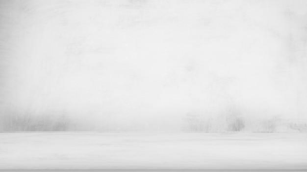 Svuoti la cima del pavimento di calcestruzzo grigio sul fondo grigio di struttura della pittura. Foto Premium