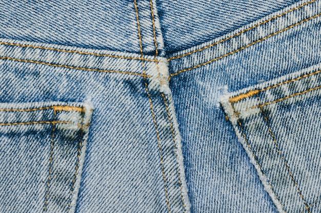 Tasche posteriori in denim close-up Foto Gratuite